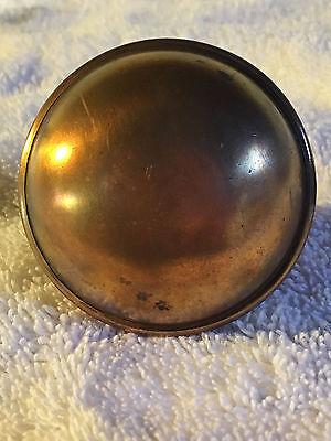 No.12 antique doorknob solid brass 3