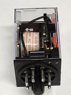 Relay OMRON MK2P-I MK2P AC 220V  8 Pin 10A 250VAC and PF083A Socket Base