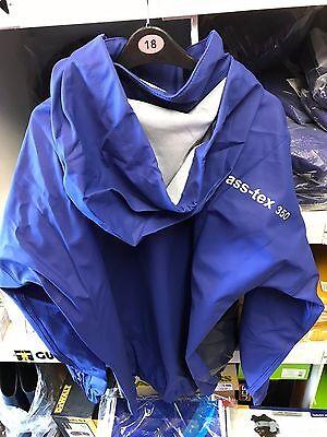 100/% Waterproof /& Windproof Vass-Tex 350 Heavy Duty Team Vass Smock BLUE