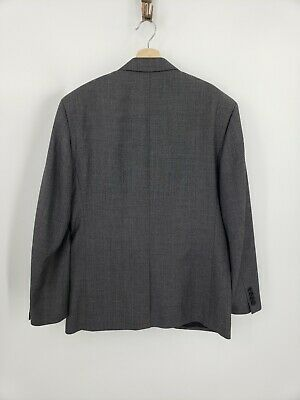 New J.Crew Crosby Suit Jacket Center Vent Gray Italian Worsted Wool Size 40R 2