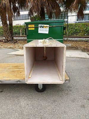 Tall Mid Century 70's  Pink Marble Pedestal W Built In Brass Light # 1 - P