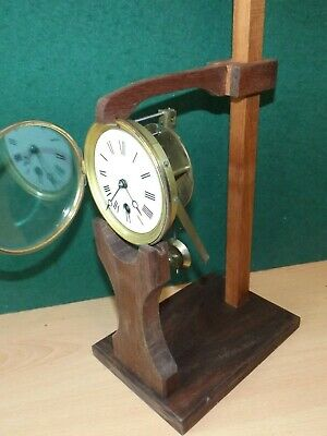 Clock movement test adjustment stand French design now bigger 4 longer pendul 2
