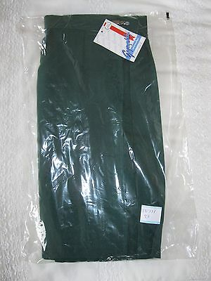 "GYMPHLEX Girls/Ladies BOTTLE GREEN School Gym Kilt/Skirt W30"" 15+ yrs- NEW! 7"