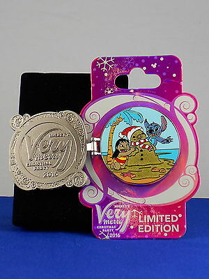 Disney Collectible LE 5300 Trading Pin LILO /& STITCH Very Merry Christmas 2016