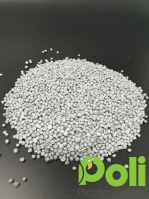 Recycled HDPE Plastic Pellets/Beads. Stuffing,Filling. 2 Colours 12