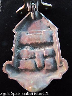 Antique Bronze WHITCHURCH Door Knocker small figural interior architectural hdwr 7