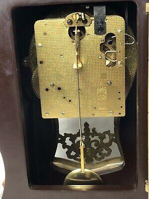 1 Large Antique Louis XVI French Style Gilt Ormolu Boulle Mantle Clock 9
