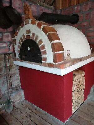 Holzbackofen Pizzaofen Steinbackofen Kuppelofen Rund Bausatz Aus
