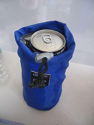 BULK LOT DECOR 600ml DRINK BOTTLE COOLERS, BLUE & GREEN x 12