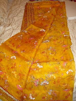Ladies Indian Crepe Silk Saree 4