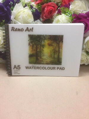 A5 Watercolour Pad 280gsm Atrist Painting Art Paper Sketchbook Sketch Drawing 2