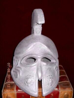 Ancient, Greek helmet Metal A copy 14.2 inch 2