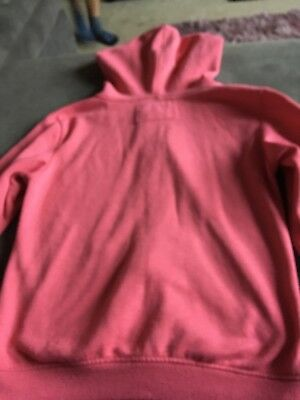 Primark Girls Pink Long Sleeve Zip Up Jacket Size 9-10 Years Good Condition 4