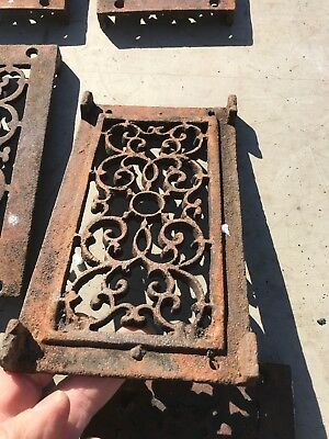 Rl 4 13 Av Price Each Antique cast-iron heating great with foot 4.75 x 8.5 10