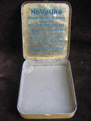 Alte Blechdose Dr. Wolter's NoValine Knoblauch-Linsen - Preis 1,20 Reichsmark 7