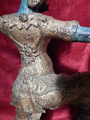Antiques Antique Gilt Bronze Rama Oriental Large Deity Statue Sculpture Thai Hindu H 55cm Sale Price Asian Antiques