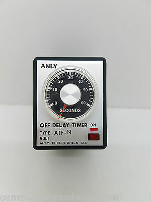 ANLY ATF-N 240V Off Delay timer 3