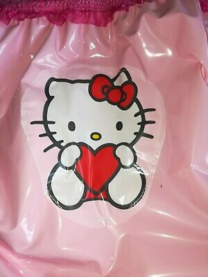 Adult Baby Pvc Slips Gummihose Latex Lack Windelhose Plastik Pants Hello Kitty 2