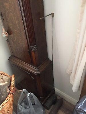 Antique Grandfather Clock Rare Original 1780! Wills And Wilks RARE 3