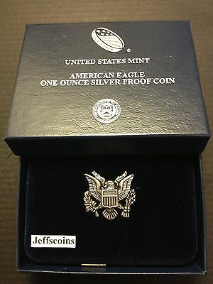2018 S AMERICAN EAGLE SILVER DOLLAR Proof San Francisco Mint 1oz .999 Coin 18EM 3