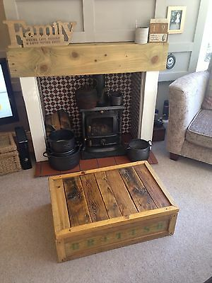 Vintage Pine Chest/crate 12