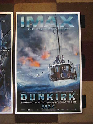 """Dunkirk ( 11"""" x 17"""" ) Movie Collector's Poster Prints ( Set of 3 ) 10"""
