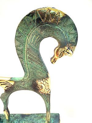 Ancient Greek Bronze Museum Statue Replica Of A Geometric Era Horse Collectable 4