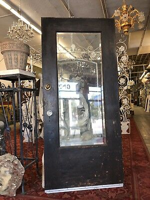 Front Door Arts & Crafts Craftsman Style Beveled Glass 2