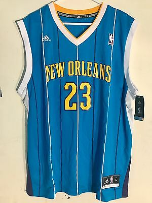 f55207b66bf9 ... Adidas NBA Jersey New Orleans Hornets Anthony Davis Teal sz M (now  PELICANS) 2