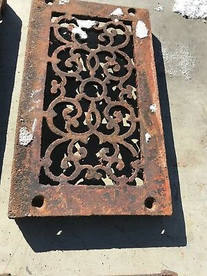 Rl 4 13 Av Price Each Antique cast-iron heating great with foot 4.75 x 8.5 6
