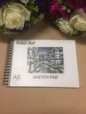 A5 Sketch Pad 140gsm Atrist Painting Art Paper Sketchbook  Drawing Craft Pastel 3