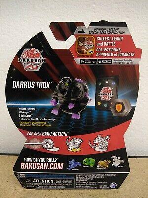 SEALED Bakugan Battle Planet DARKUS TROX Figure Brawlers Wave 3