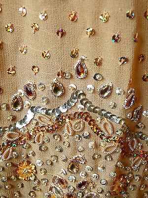 Asian Wedding Burnt Orange Embellished Lengha & Dupatta    (M)  Uk 10 £650  Bnwt 11