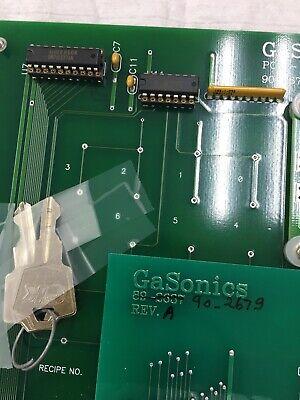Gasonics PCA Display Panel 90-2678 B W/ 90-2679 , 89-2637? 4004 AWD-D-1-1-7-003 9