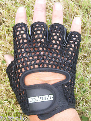 + Body Active Gloves BNIP H2P Leather Weightlifting Belt Various Sizes