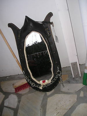Spiegel *** Pferde ? Spiegelkummet antik  für Pferdefreunde !