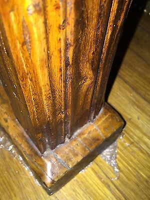 Magnificent Rare 1800's Wood Plank Chinese Altar Table 9