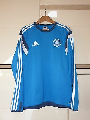 lowest price new collection classic styles ADIDAS DFB DEUTSCHLAND Training Shirt blau 2014 Germany ...