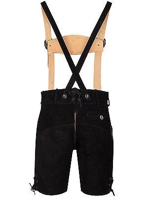 Trachten Set Herren Trachten Lederhose mit Tracht Träger Hemd Tasche Oktoberfest 3