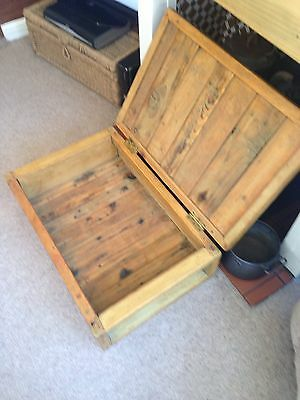 Vintage Pine Chest/crate 10