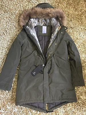 best service 89303 d39d1 F32 ITALY TOP QUALITY OVERSIZE WINTER PARKA COAT JACKET Fur Giaccone  Piumino M/L