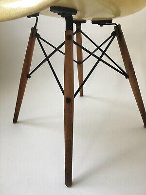 All original 1. Generation Zenith Rope Edge Eames Herman Miller Fiberglass Chair 6
