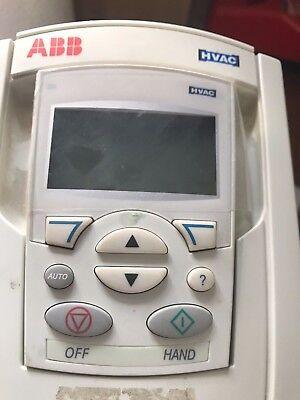 General Purpose AC Drives ABB ACH550 ACH-CP-B Keypad Auto/Hand ...