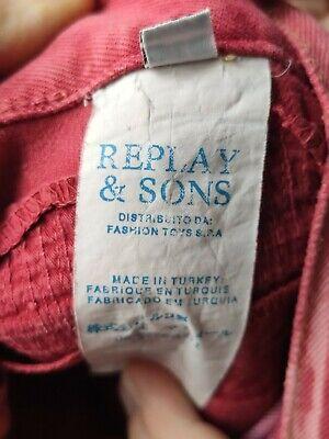 Jeans Replay & Sons Bambino taglia 34 7