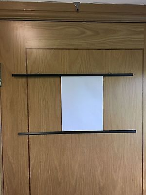 poster hanger BLACK Strips Snaps maps drawings picture hanging A0 A1 A2 A3 A4 2