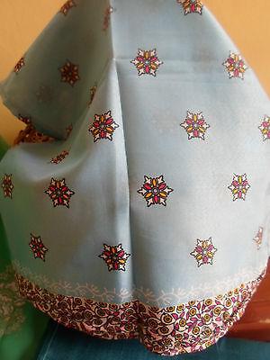 3 NEW Colourful Mixed Fibre Ethnic Scarves Ladies Scarf ~ Xmas Gift Idea  #33 3