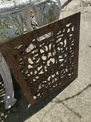Antique Victorian Grate  13×11 Heating Vent Register 4