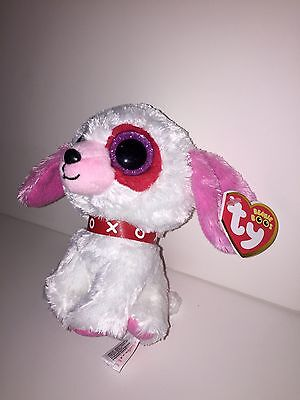 cd983e4a4bf ... Ty Darlin Love Dog Beanie Boos-New