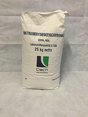 ... 25 kg Bicarbonate de Sodium Natron E500 Soude Baking Soda Acide Citrique 22eeb37792a