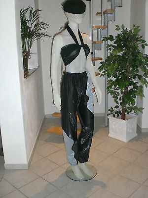 Ultra Soft Pvc Sauna Schwitz Hose Jogginghos Jogging Trousers L & Xl 7